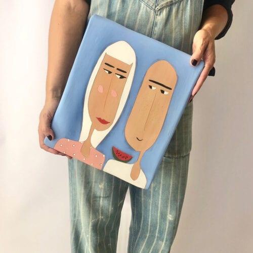MON COIN Studio greek contemporary ceramic art Ancient Vibes exhibition October 2020